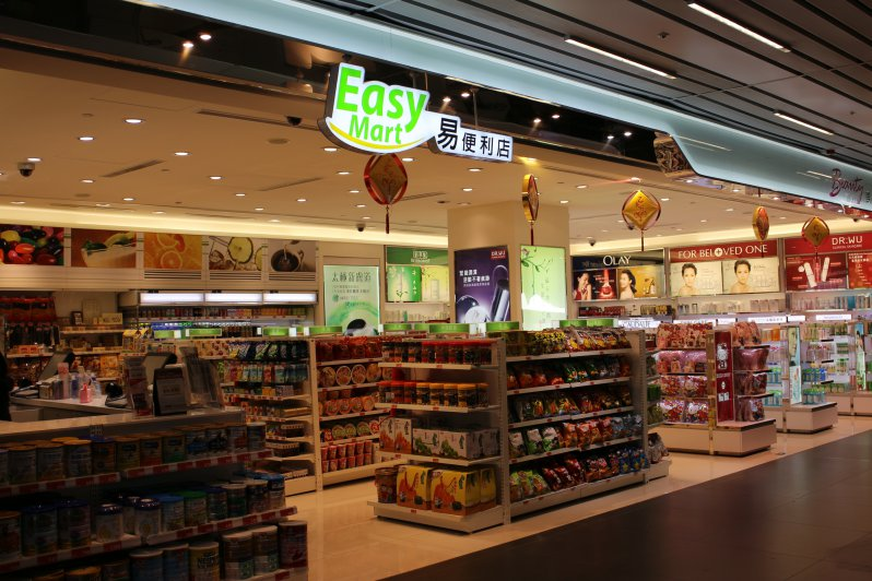 Convenience and beauty cosmetic stores